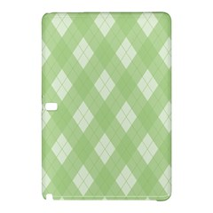 Plaid Pattern Samsung Galaxy Tab Pro 12 2 Hardshell Case by Valentinaart