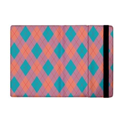 Plaid Pattern Apple Ipad Mini Flip Case by Valentinaart