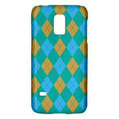 Plaid Pattern Galaxy S5 Mini by Valentinaart