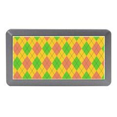 Plaid Pattern Memory Card Reader (mini) by Valentinaart