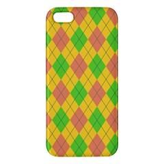 Plaid Pattern Iphone 5s/ Se Premium Hardshell Case by Valentinaart