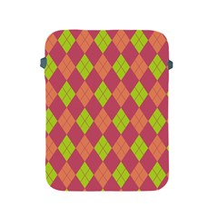 Plaid Pattern Apple Ipad 2/3/4 Protective Soft Cases by Valentinaart