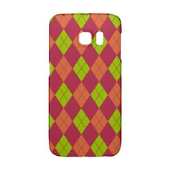 Plaid Pattern Galaxy S6 Edge by Valentinaart