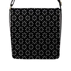 Pattern Flap Messenger Bag (l)  by Valentinaart