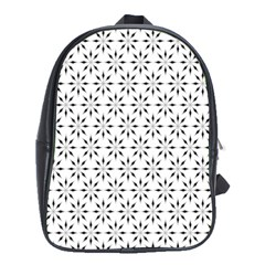 Pattern School Bags (xl)  by Valentinaart