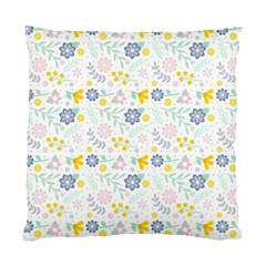 Vintage Spring Flower Pattern  Standard Cushion Case (two Sides) by TastefulDesigns