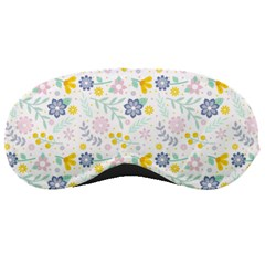 Vintage Spring Flower Pattern  Sleeping Masks by TastefulDesigns