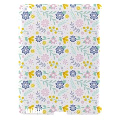 Vintage Spring Flower Pattern  Apple Ipad 3/4 Hardshell Case (compatible With Smart Cover) by TastefulDesigns