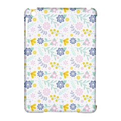 Vintage Spring Flower Pattern  Apple Ipad Mini Hardshell Case (compatible With Smart Cover) by TastefulDesigns