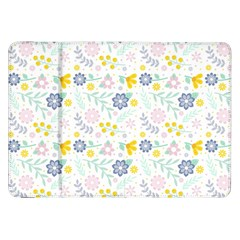 Vintage Spring Flower Pattern  Samsung Galaxy Tab 8 9  P7300 Flip Case by TastefulDesigns