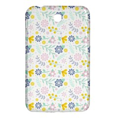 Vintage Spring Flower Pattern  Samsung Galaxy Tab 3 (7 ) P3200 Hardshell Case  by TastefulDesigns