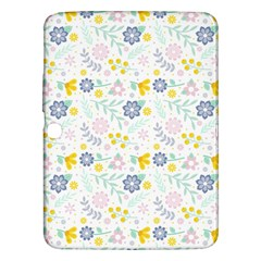 Vintage Spring Flower Pattern  Samsung Galaxy Tab 3 (10 1 ) P5200 Hardshell Case  by TastefulDesigns