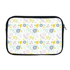 Vintage Spring Flower Pattern  Apple Macbook Pro 17  Zipper Case by TastefulDesigns