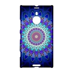 Power Flower Mandala   Blue Cyan Violet Nokia Lumia 1520 by EDDArt