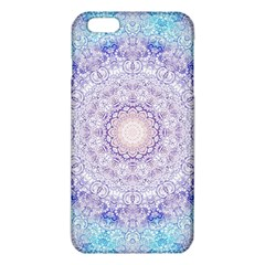 India Mehndi Style Mandala   Cyan Lilac Iphone 6 Plus/6s Plus Tpu Case by EDDArt