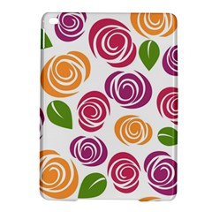 Colorful Seamless Floral Flowers Pattern Wallpaper Background Ipad Air 2 Hardshell Cases by Amaryn4rt