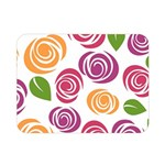 Colorful Seamless Floral Flowers Pattern Wallpaper Background Double Sided Flano Blanket (Mini)  35 x27 Blanket Front