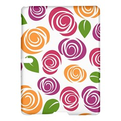 Colorful Seamless Floral Flowers Pattern Wallpaper Background Samsung Galaxy Tab S (10 5 ) Hardshell Case  by Amaryn4rt