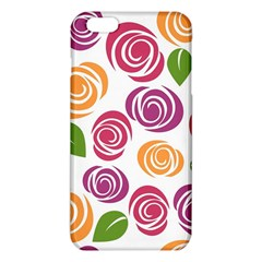 Colorful Seamless Floral Flowers Pattern Wallpaper Background Iphone 6 Plus/6s Plus Tpu Case by Amaryn4rt