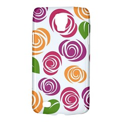 Colorful Seamless Floral Flowers Pattern Wallpaper Background Galaxy S4 Active by Amaryn4rt