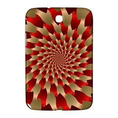 Fractal Red Petal Spiral Samsung Galaxy Note 8 0 N5100 Hardshell Case  by Amaryn4rt