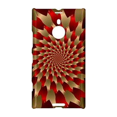 Fractal Red Petal Spiral Nokia Lumia 1520 by Amaryn4rt
