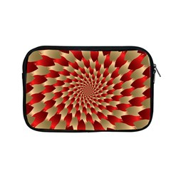 Fractal Red Petal Spiral Apple Macbook Pro 13  Zipper Case by Amaryn4rt