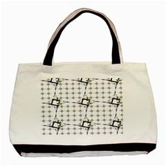 Fractal Design Pattern Basic Tote Bag by Amaryn4rt