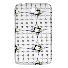 Fractal Design Pattern Samsung Galaxy Tab 3 (7 ) P3200 Hardshell Case  by Amaryn4rt