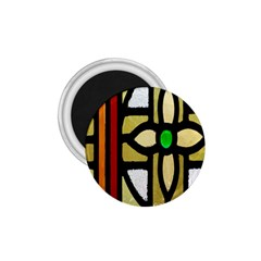 A Detail Of A Stained Glass Window 1 75  Magnets