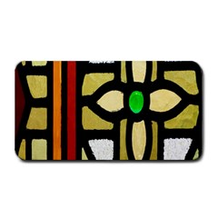 A Detail Of A Stained Glass Window Medium Bar Mats by Amaryn4rt