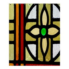 A Detail Of A Stained Glass Window Shower Curtain 60  X 72  (medium)  by Amaryn4rt