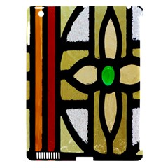 A Detail Of A Stained Glass Window Apple Ipad 3/4 Hardshell Case (compatible With Smart Cover) by Amaryn4rt