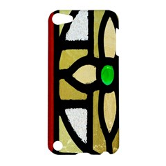 A Detail Of A Stained Glass Window Apple Ipod Touch 5 Hardshell Case by Amaryn4rt