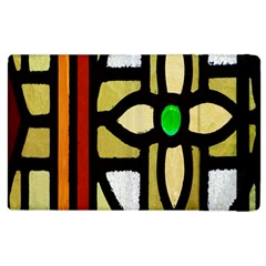 A Detail Of A Stained Glass Window Apple Ipad 3/4 Flip Case by Amaryn4rt