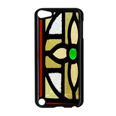 A Detail Of A Stained Glass Window Apple Ipod Touch 5 Case (black) by Amaryn4rt