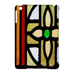 A Detail Of A Stained Glass Window Apple Ipad Mini Hardshell Case (compatible With Smart Cover) by Amaryn4rt