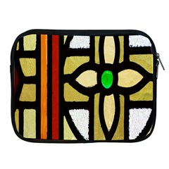 A Detail Of A Stained Glass Window Apple Ipad 2/3/4 Zipper Cases by Amaryn4rt