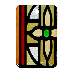 A Detail Of A Stained Glass Window Samsung Galaxy Note 8 0 N5100 Hardshell Case  by Amaryn4rt