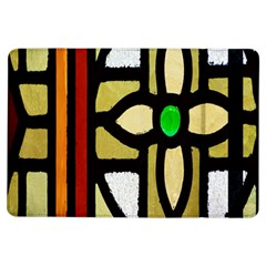 A Detail Of A Stained Glass Window Ipad Air Flip by Amaryn4rt
