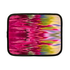 Abstract Pink Colorful Water Background Netbook Case (small)  by Amaryn4rt