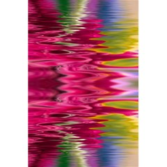 Abstract Pink Colorful Water Background 5 5  X 8 5  Notebooks by Amaryn4rt