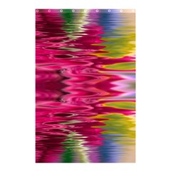 Abstract Pink Colorful Water Background Shower Curtain 48  X 72  (small)  by Amaryn4rt