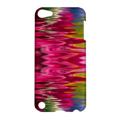 Abstract Pink Colorful Water Background Apple Ipod Touch 5 Hardshell Case by Amaryn4rt