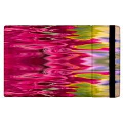 Abstract Pink Colorful Water Background Apple Ipad 3/4 Flip Case by Amaryn4rt