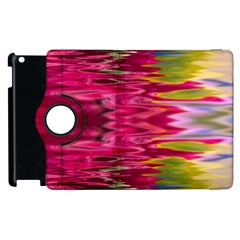 Abstract Pink Colorful Water Background Apple Ipad 3/4 Flip 360 Case by Amaryn4rt