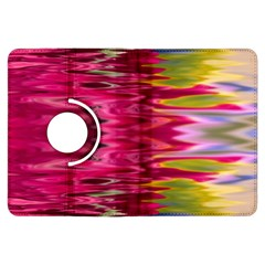 Abstract Pink Colorful Water Background Kindle Fire Hdx Flip 360 Case by Amaryn4rt