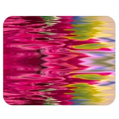 Abstract Pink Colorful Water Background Double Sided Flano Blanket (medium)  by Amaryn4rt