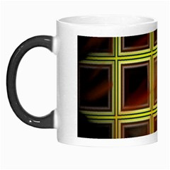 Drawing Of A Color Fractal Window Morph Mugs by Amaryn4rt