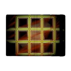 Drawing Of A Color Fractal Window Apple Ipad Mini Flip Case by Amaryn4rt